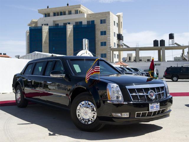 Obama Car: American President Car, The Beast (photos)