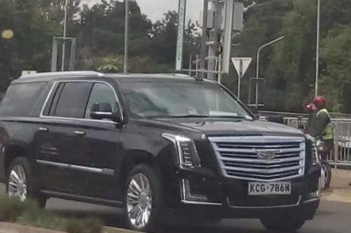 A Kenyan Imports Brand New Cadillac Luxury Car See Photos Venas News