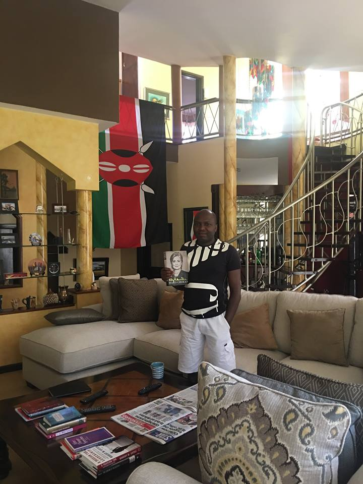Forget About The Range Rover, Here is Donald Kipkorir's Mansion in