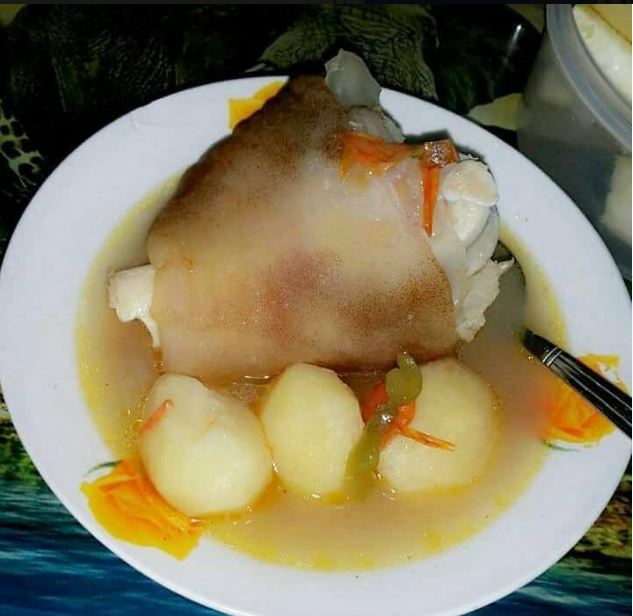 Kikuyu Girlfriend Visited This Luo Man Today And She Prepared This Meal, He Seeks Your -2938