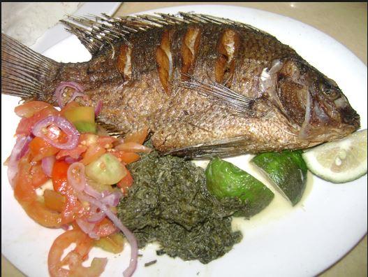 "Image result for kenyan eating fish"""