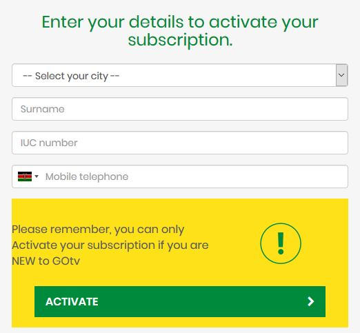 How to activate your GOtv Decoder – Venas News