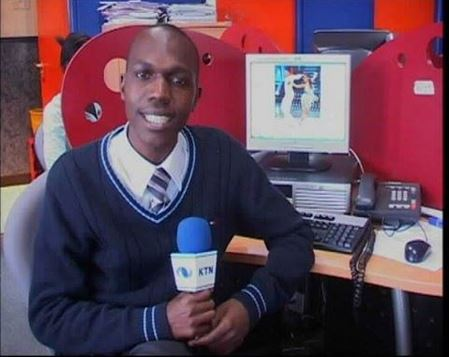 Larry Madowo Shares His First Photo at Work, He Looks Like a Form One!!! – Venas News