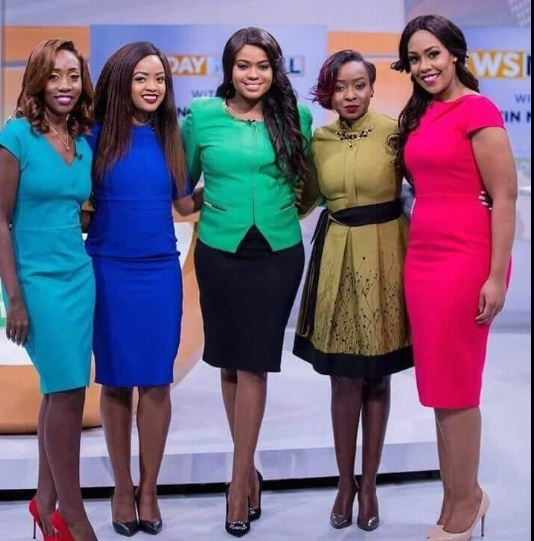 Why This Photo of Citizen TV News Anchors is Trending:Did They