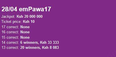 Try These Www betpawa Jackpot Prediction {Mahindra Racing}