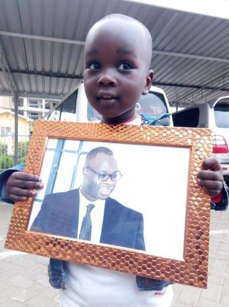 Image result for Ken Okoth's son
